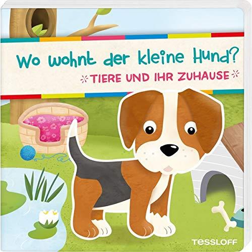 Pappbilderbuch Hund Welpe Tiere